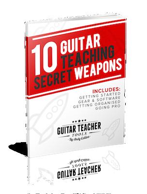 10 Guitar Teaching Secret Weapons